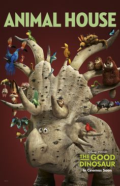 """The Good Dinosaur"" opens November 25."