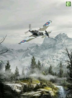 Spitfire over the Alps
