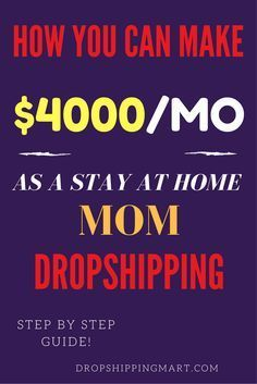 Dropshipping business is the one of best side hustle. It doesn\'t take a lot of time and it\'s a great way to make money from home. It\'s perfect for people working a nine to five or busy staying home moms.