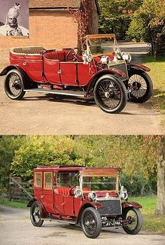 A 1912 Lanchester State Limo that was especially built for the erstwhile Maharaja of Rewa, a princely state in the modern day India. The royal limo sports a removable top and driver's canopy, which enable the vehicle to be utilized as an open tourer.   This type of luxurious limo was famous among Indian nobility in those days and especially favored by Maharajas. Lanchester largely dominated the Indian auto market for decades.