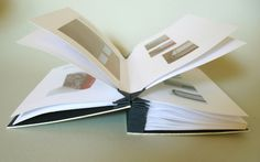 """The blizzard book is a structure devised by the american book artist Hedi Kyle. It's a multi-pocket structure made of one piece of paper, folded, very much like an origami."" Benjamin Elbel London, United Kingdom"