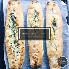 Spinach & Ricotta Pastries