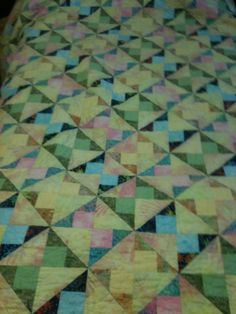 Colleen Hallagan's graduation quilt!