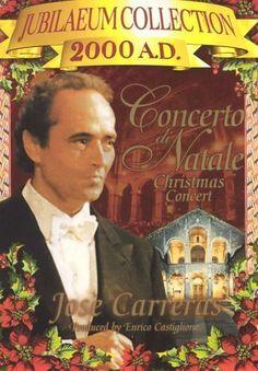 Concerto Di Natale with Jose Carreras [DVD] [1999]