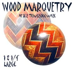 Modern Wood Marquetry Button ~ R C Larner Buttons at eBay http://stores.ebay.com/RC-LARNER-BUTTONS