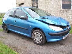 PEUGEOT 206 LX 1.4 2002 REG 5 DOOR NUT FOR SPARES REPAIR ALL PARTS AVAILABLE