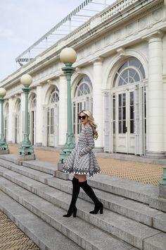 Atlantic-Pacific Blog OTK Boots Lace Dress
