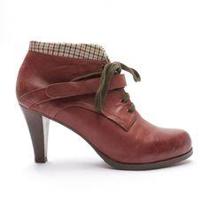 Bottines & low boots à talons SEE BY CHLOE Rouge, bordeaux