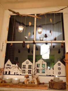 Fensterdeko 2 Fensterdeko 2 The post Fensterdeko 2 & DIY appeared first on Fall decor ideas . Noel Christmas, Christmas Is Coming, All Things Christmas, Winter Christmas, Christmas Ornaments, Christmas Windows, German Christmas, Christmas 2017, Christmas Window Decorations