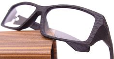 Here's a new emerging trend for men: wooden glasses. Equipped with a lightweight, sturdy frame, these glasses give a rugged, vintage look.