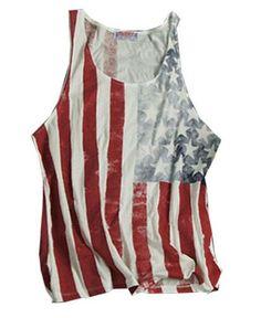 american flag tanks | ... Clothing T-shirts & Tanks Tanks & Vest Tops American Flag Graphic Tank