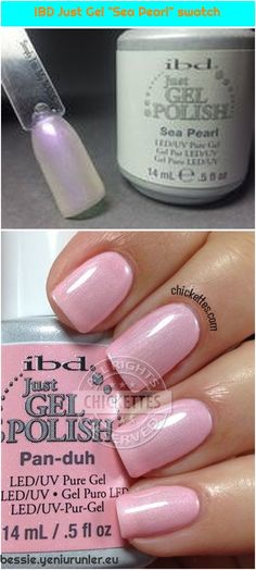 ibd Just Gel Polish: Pan-Duh ibd Just Gel Polish: Pan-Duh We are want to say thanks if you like to share this post to another people via your faceb. Ibd Just Gel Polish, Nail Polish, Sea Pearls, Uv Led, Used Iphone, Swatch, Pure Products, Nails, People