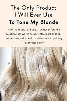 Bright Blonde Hair, Platinum Blonde Hair Color, Brassy Blonde, Brassy Hair, Cool Blonde, Light Blonde, Best Blonde Toner, Toning Blonde Hair, Bleach Blonde Hair