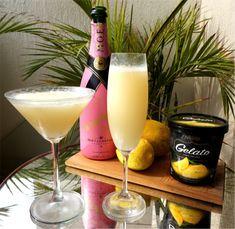 Receita do dia: Champagne + Gelato - Fashionismo