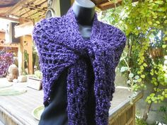 Thee Purple Haze  Shawl for That Perfect Summer by Susieskorner, $28.00