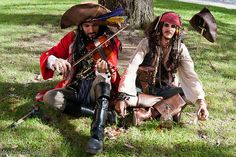 Pirates stocked with rum   Lucca Comics & Games 2011