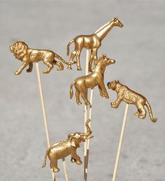 DIY in gold.