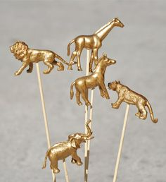 golden animals!