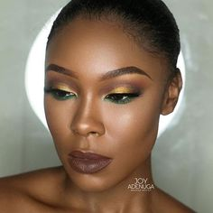 WEBSTA @ makeupaddictioncosmetics - @joyadenuga used her #Bronzified highlighter for this stunning look! ❤️ Now with 20% off! Enter code: XMAS16 FREE pair of lashes with all orders over £30!#makeupaddictioncosmetics #maddhighlighters