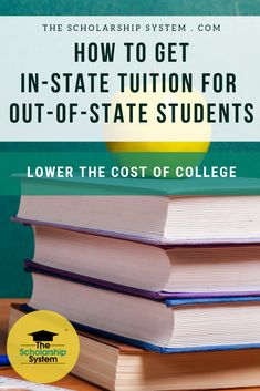 Out-of-state tuition costs can be expensive. Luckily, there are ways to pay in-state tuition as an out-of-state student. College Costs, Financial Aid For College, State College, Online College, Scholarships For College, College Hacks, College Fun, Education College, College Life