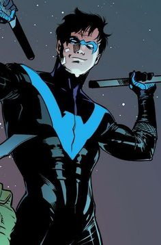 Dick Grayson, Flying Grayson, Robin, Nightwing, Batman, Agent 37, leader, Titan, and the love of my life ❤️
