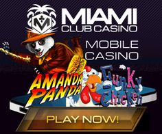 Welcome bonus Miami Club Casino Many gifts are prepared for each player. If you are a beginner, you can safely count on a new player welcome bonus of up to $800! In the first 8 recharges on your account, gift campaign takes power: a doubling of bills in the amount of up to $100 each!  #casino #slot #bonus #Free #gambling #play #game