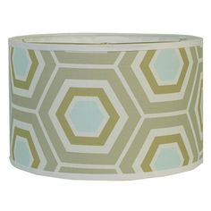 """Check out 16"""" Euro Fitter Retro Honeycomb Drum Shade from Shades of Light"""