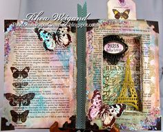 http://passionatepapercreations.blogspot.com/2013/04/anything-goes-challenge-at-7-kids.html Done @Spellbinders @Tim Holtz @Stampendous Stamps