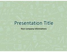 116 best powerpoint templates images on pinterest body template math free powerpoint template toneelgroepblik Images