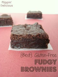 Best Gluten-Free F  Best Gluten-Free Fudgy Brownies on  MyRecipeMagic.com  https://www.pinterest.com/pin/500673683564995975/