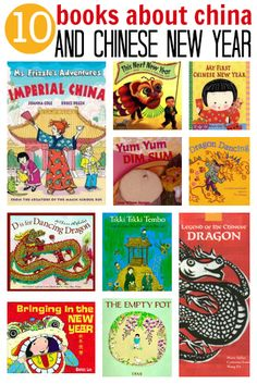 10 books about China and Chinese New Year by notimeforflashcards #Books #Kids #Chinese_New_Year