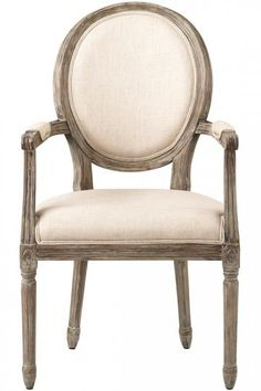 Gorgeous dining armchair. HomeDecorators.com