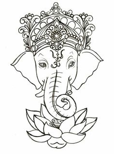 Mehndi Design Coloring Pages