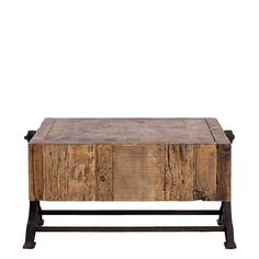 Monti - Industrial Leg Coffee Table   Occasional Tables   Dining Room