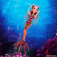 Monster High Scarrier Reef Toralei Doll