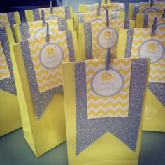 Yellow and Grey Elephant themed 1st birthday party via Kara's Party Ideas KarasPartyIdeas.com The Place for All Things Party! #elephantparty #yellowandgrey #yellowandgreychevron #firstbirthday #genderneutral #chevronparty (12)