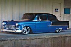 Bob VanWart's 1955 Chevrolet Bel Air underwent plenty of body restoration after he noticed the bondo and homemade panels under the carpet.