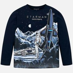 Navy Space Glow In The Dark Shirt
