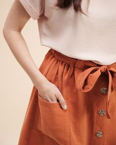 Schnittmuster Rock Bloom Diy Kleidung, Pli, Bloom, Mini Skirts, Sewing, My Style, Womens Fashion, Casual, Capsule Wardrobe