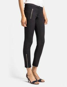 MSGM Ankle Zip Leggings