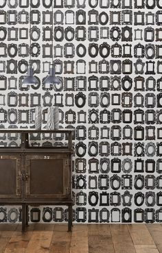 New wallpaper by Paola Navone & Daniel Rozensztroch by @nlxl