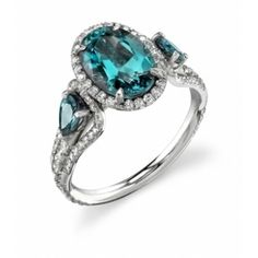 Omi Gems: ALEXANDRITE and DIAMOND RING
