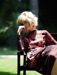 Ana Claudia Michels' Sensual Fury by Giampaolo Sgura for Vogue Brasil February 2013 As 'Diva AItaliana' - 3 Sensual Fashion Editorials | Art Exhibits - Anne of Carversville Women's News