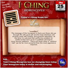 Free I Ching readings!