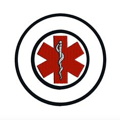 MEDICAL Symbol Health Awareness Logo Machine by TracenLines