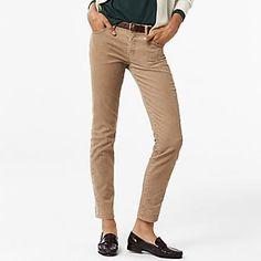 Pantalon En Velours Côtelé FEMME