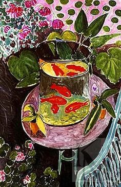 henri matisse fish bowl