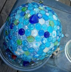 Make The Best of Things: Glass Garden Balls DIY Part 1