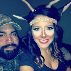 Deer and hunter costume | photo | Pinterest | Costumes, Halloween ...