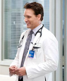 Peter Facinelli as Fitch Cooper on Nurse Jackie
